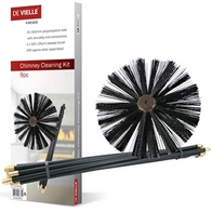 De-vielle-9-piece-chimney-cleaning-kit