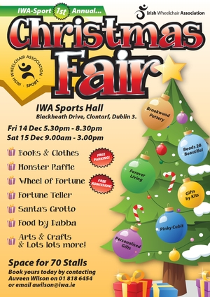 Irish-Wheelchair-Association-Christmas-Fair-Clontarf