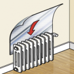 How-to-Install-Radiator-Heat-Reflector-Foil
