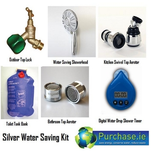 Silver-Water-Saving-Kit