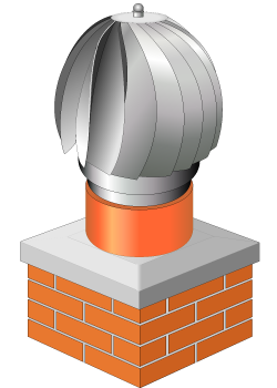 Wind-driven-chimney-cowl-stainless-steel