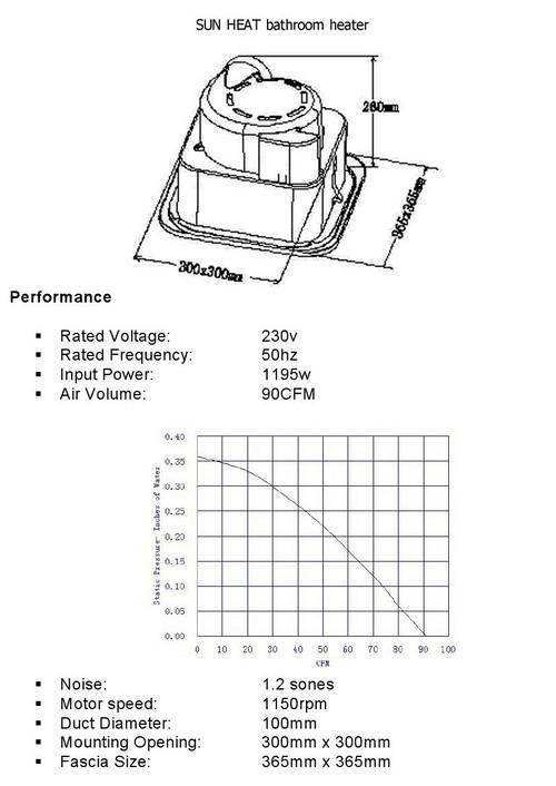 bathroom heater light fan installation information purchase ie Broan Bathroom Fan Wiring Diagram technical information sunheat bathroom heater