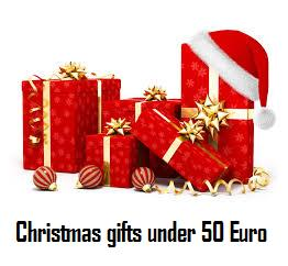 christmas gift ideas less than 50 euro