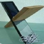 Solar-Desklight-Paper-Clip-Holder