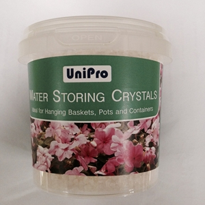 water storing crystals